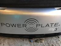 Power plate-vibration machine.