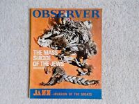 Five 1960s Observer magazines & one Sunday Times magazine from October 1968