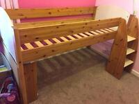 Stompa cabin mid sleeper single bed £120 ono