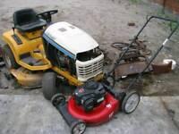 wanted scrap petrol tools