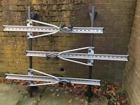 Roof bars & feet & bike rack