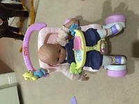 Baby walker pram