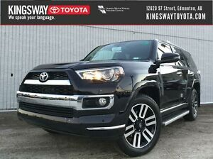 2016 Toyota 4Runner Limited 7 Passenger - COMES WITH FULL 3M!