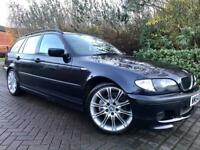 BMW 3 Series 2.0 320d M Sport Touring 5dr Full Leather Interior Mv2 Alloys 6 Speed