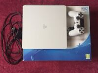 Sony PlayStation PS4 White (slim) as new £190