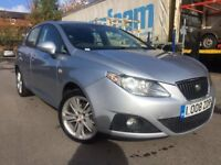 Seat Ibiza - 08 plate - new shape - alloy wheels- 2 former keeper