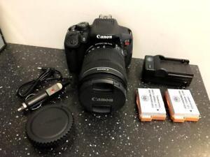 Canon EOS Rebel T5i w/18-135mm Lens