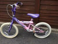 Girls bike -16""