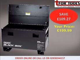 Draper 05543 Truck Box Site Box Contractors Storage Box 910x430x560mm GAS STRUT