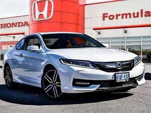 2016 Honda Accord Touring Coupe-(USED DEMONSTRATOR)-ONLY 5, 400K
