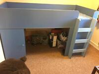 Boys blue Cabin Bed. Like new