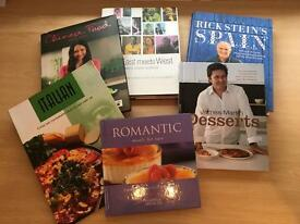 Six Cookery Books