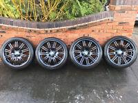 """Set of 4 x Genuine Original BMW M3 E46 19"""" Alloy Wheels"""