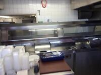 3 pan fish machine & potato peeler and cutter