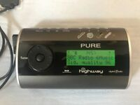 Pure Highway In Car DAB Digital Radio with FM Transmitter
