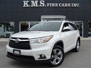 2014 Toyota Highlander LIMITED|LEATHER| PANORAMIC| NAVIGATION