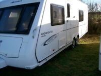 compass corona club 2009 twin axle 4 berth fixed bed motor mover excellent condition