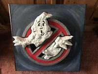 Ghostbusters sign handmade