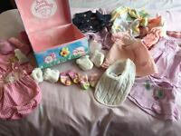 Baby Annabelle clothes and box selection