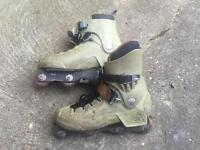 Rollerblade CI5 UK 11 Aggressive Inline skates. Well used. Classic old school skates