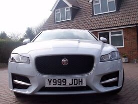 2016 Jaguar XF R-Sport Auto 2.0L one owner 2600 miles plus many extras