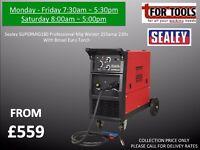 Sealey SUPERMIG255 Professional MIG Welder 250Amp 230V with Binzel® Euro Torch