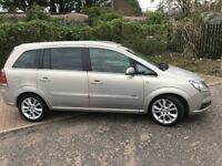 2007 Vauxhall Zafira 1.9 CDTi 16v Design 5dr Manual @07445775115
