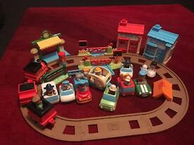 Fisher Price Happyland with extra
