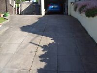 driveway /pathway/shed base slabs