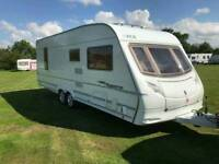 2006 Ace Supreme Globestar Twin Axle Caravan With Motor Mover