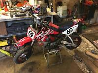 Thumpstar pit bike 120 pro