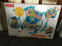 Fisher price infant to toddler baby bouncer