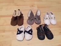 Baby boy shoes (newborn/0-3 months)