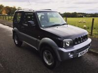 2004 SUZUKI JIMNY 1.3L *AUTOMATIC* BLACK/SILVER - YEARS MOT - IDEAL FIRST CAR - GET READY FOR WINTER