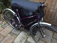 """Ladies 20"""" dawes hybrid bicycle. Inc new lights & mudguards. Delivery & D lock available"""