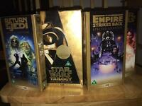Star Wars trilogy special edition on VHS