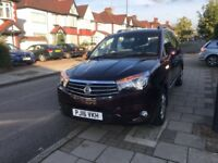 Ssangyong turismo 2016, very low millage