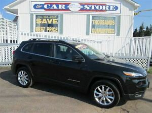 2015 Jeep Cherokee LIMITED!! AWD!! HTD LTHR!! MOON ROOF!! NAVIGA