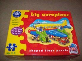 Orchard Toys Big Aeroplane puzzle