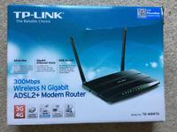 TP-Link - TD-W8970 - ADSL2+ Wireless Modem Router - 300Mbps 3G + 4G