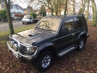 MITSUBISHI PAJERO 2.8 TD SWB SHOGUN 4X4 1 OWNER FROM NEW IMMACULATE SNOW MUD EXPORT