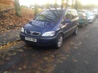Vauxhall zafira diesel long mot 7 seater