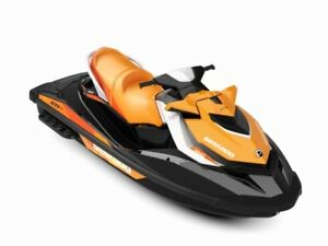 2018 Sea-Doo/BRP GTI SE 155 Noir & Orange Sunrise