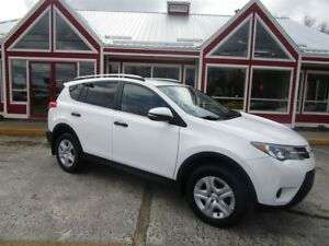 2013 Toyota RAV4 LE AWD FIRST YEAR NEW STYLE BACK UP CAMERA