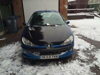 PEUGEOT 206 1.1 ENTICE 11 MONTHS MOT WITH FULL SERVICE HISTORY