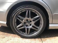 Mercedes brabus 19 inch alloy wheels