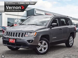 2012 Jeep Compass Sport/North FWD 5 SPEED MANUAL | AUX-IN