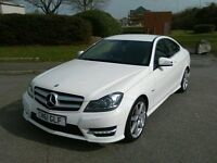 MERCEDES C CLASS COUPE C180 SPORT BLUEEFFICIENCY