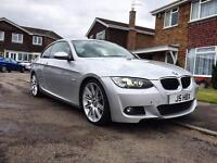 BMW E92 320d M SPORT FSH CRUISE CLIMATE XENONS HEATED SEATS