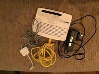 Technicolor TG582n PRO 4 port wireless router